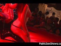 Stripper looks hot in black boots