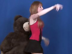 Sexy Lisa Foiles tries to do a LapDance