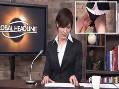 Real Japanese news reader