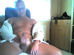 german man jerk at home 2