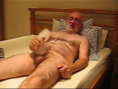 Master Wanker wanking with a fleshlight sleeve