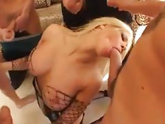 A blowbang starring Gina Lynn