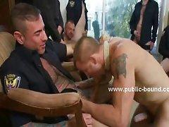 Hotel sauna hosts the weekly gay meeting