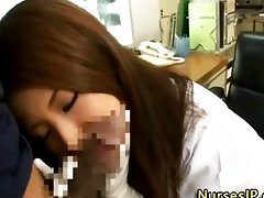 Dirty japanese nurse babe