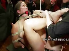 Jacqueline gets fucked and punished