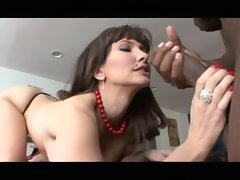 Hot milf drilled after a nice facefuck