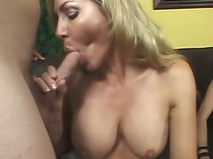 Mom and her daughter sharing a single cock !
