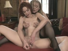 Legendary adult star nina hartley is back for more lesbian action