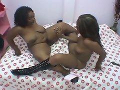 Big fat black lesbian mommas