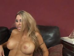 Cum starving big boobies blonde momma lavish pounding session