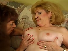 Steamy hot sex-party for seniors