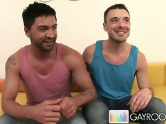 Super hot gay dudes fucking each other