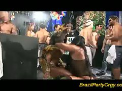 Hardcore pussy banging fun with amazing hot bodies