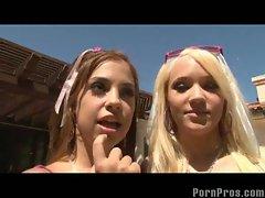 Bikini Teens Lesbians Teagan & Gigi Play Then Fuck