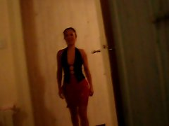 Thai MILF in open skirt