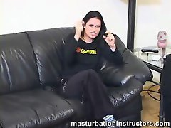 Masturbating humiliation instruction video