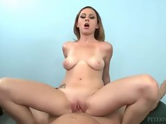 Beautiful tattooed girl POV hardore sex