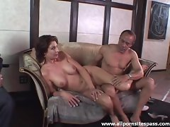 Old man blowjobs and erotic milf tease fun