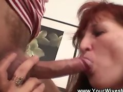 Mother in law sucking daughter husbands cock