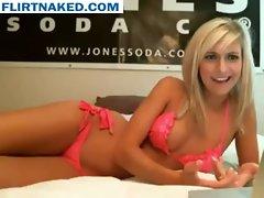 Webcam Girl Teaches a Virgin How To Make A Girl Cum