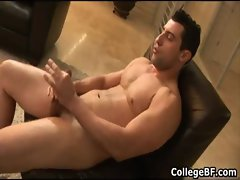 Nick Torretto wanking his fine college gay porno