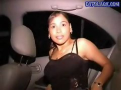 DTFBlack.com Street Hoe Gets fucked In My Back Seat