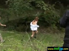 In Wilds Hot Asians Girls Get Nailed clip-20