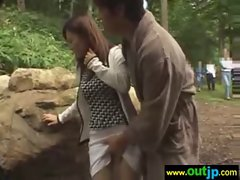 In Wilds Hot Asians Girls Get Nailed clip-06