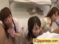 Japanese Girls In School Uniforms Get Fucked clip-08