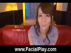 Cute Japanese Babes Nasty Facial Cumshots  03