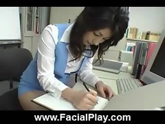 Cute Japanese Babes Nasty Facial Cumshots  01