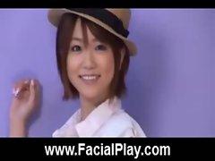 Cute Japanese Babes Nasty Facial Cumshots  32