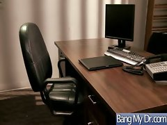 In Doctor Office Horny Girls Get Banged clip-15