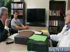 In Doctor Office Horny Girls Get Banged clip-17