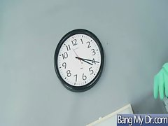In Doctor Office Horny Girls Get Banged clip-28