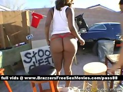 Two super sexy huge ass babes at a farm