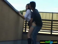 Sexy Asians Girls Get Baned In Wild Places video-17