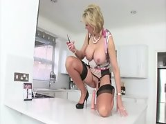 British mature whore dildo