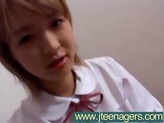 Teens Girls Japanese Get Nailed Hard video-23