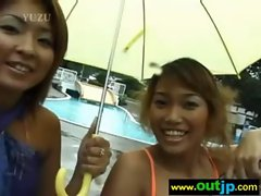 Asians Girls Get Banged In Wild Places video-05