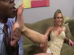 Flexible feet black dick