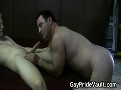 Hard gay bear fucking and sucking gay sex
