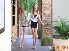 Hot lesbo fun action