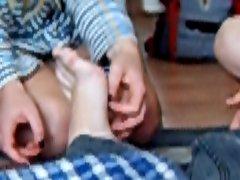 they tickle my feet