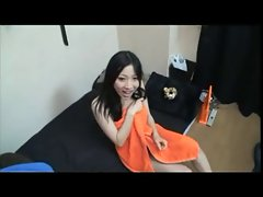 Akari creampie after shower