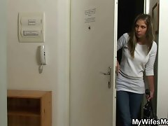 Dirty wife goes mad when finds him banging her mother