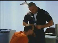 Sensual Cop bangs prisioner