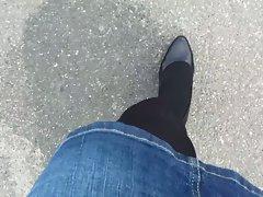 DWT Outdoor in Heels & Nylon 2013