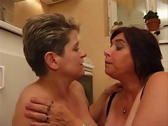 Experienced buxom french experienced with big melons