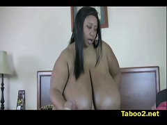 Cotton Candi loves filthy young man goo
